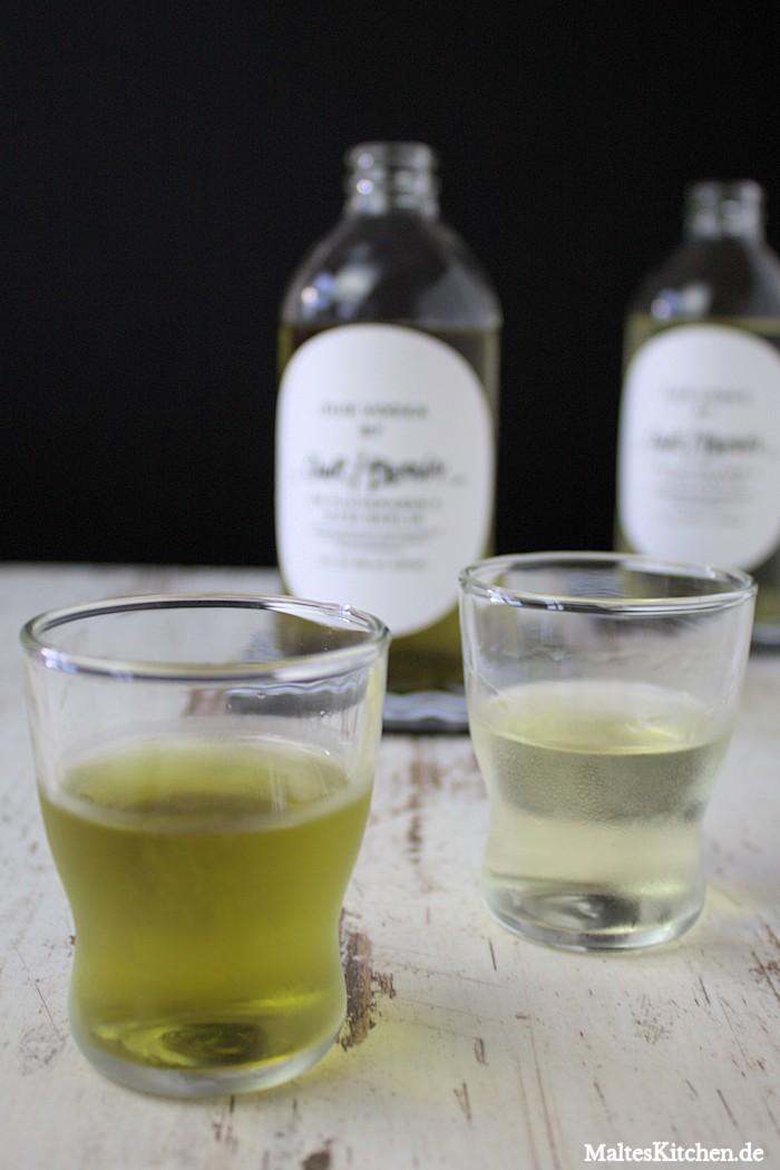 Mit Tee aromatisierter Vodka