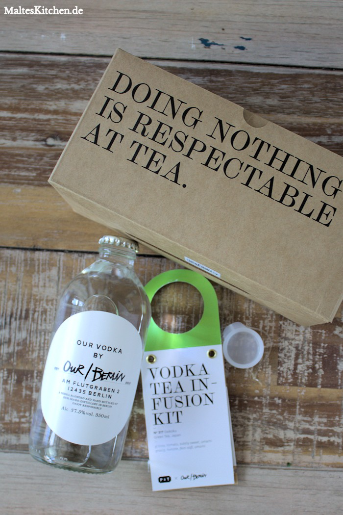 Gewinne ein Vodka Tea Infusion Kit