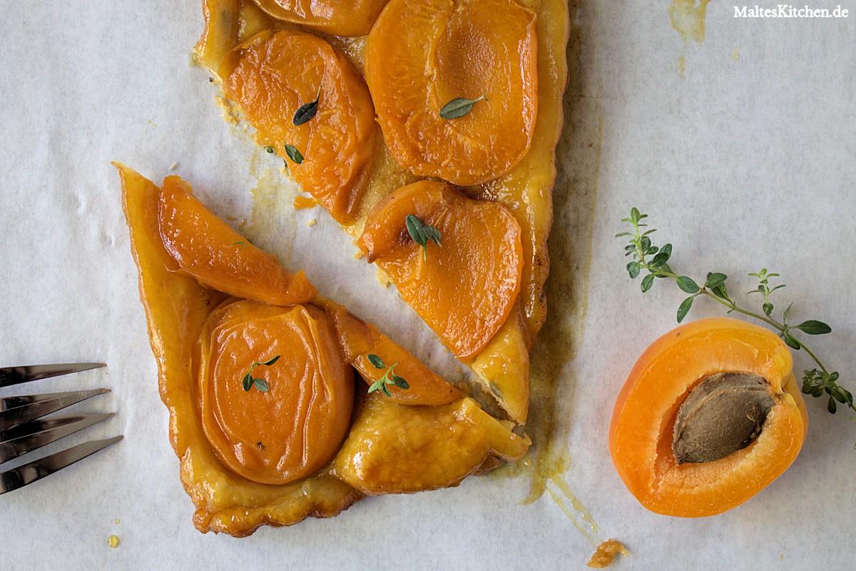 Rezept für eine Aprikosen Tarte Tatin