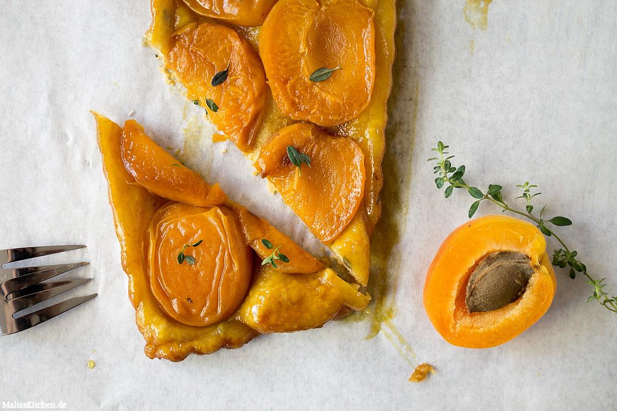 Rezept für ein Aprikosen-Tarte