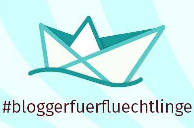 Logo Blogger für Flüchtlinge