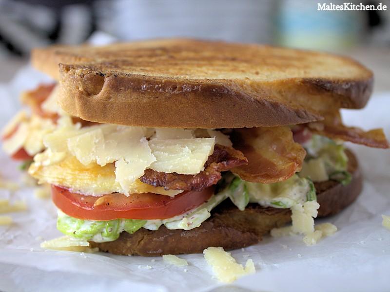 Ein sehr leckere Caesar Sandwich