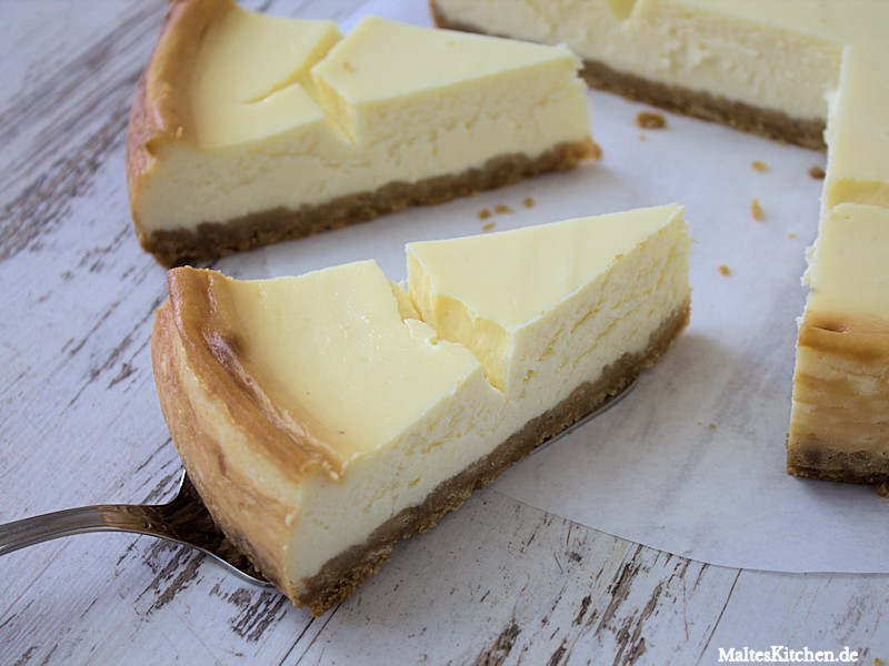 Der New York Cheesecake war richtig lecker!