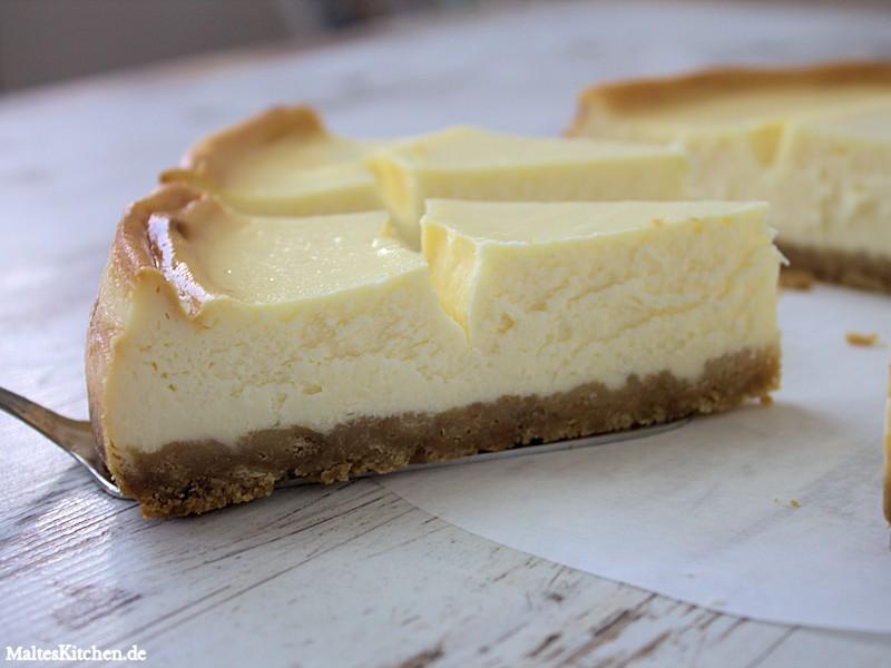 es hier in Deutschland ganz selten mal einen guten New York Cheesecake ...