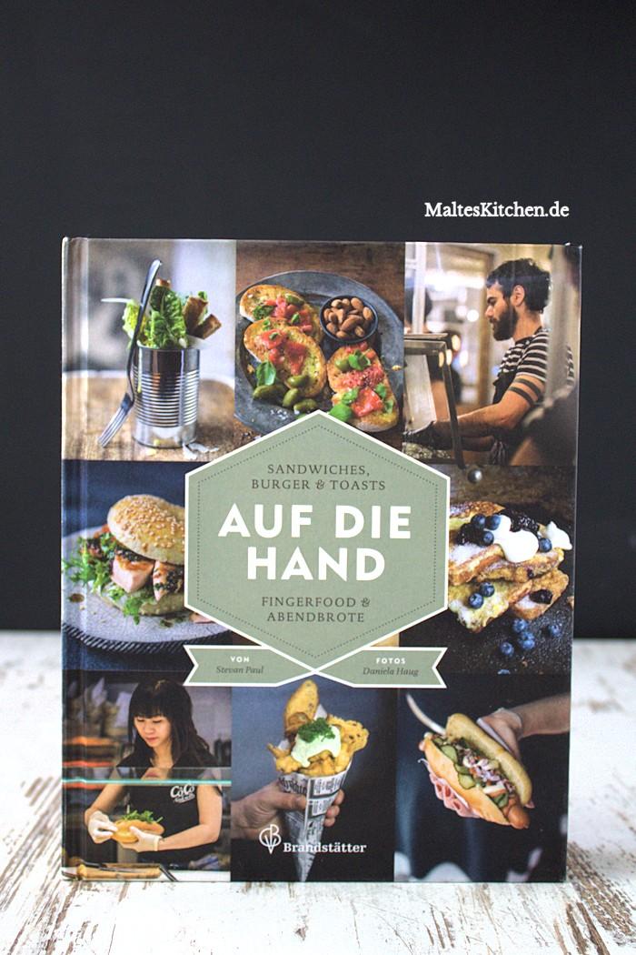 Rezension zum Kochbuch Auf die Hand