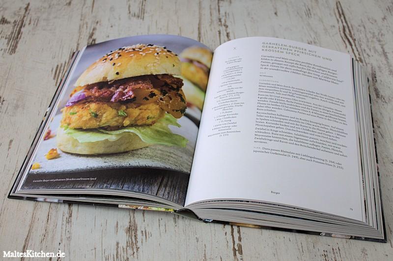Im Buch findest du tolle Burger Rezepte.