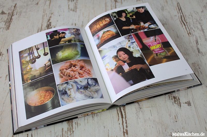 Lesenswerte Food-Storys lockern den Inhalt auf.