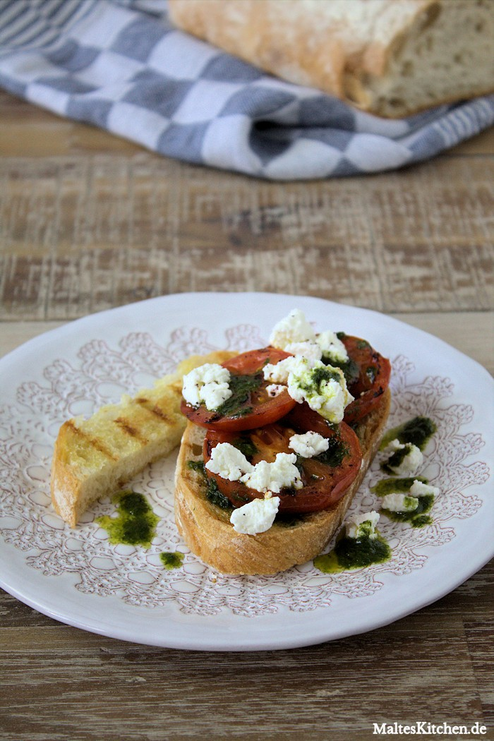 Großartige Tomaten-Ricotta-Crostini von Nigel Slater