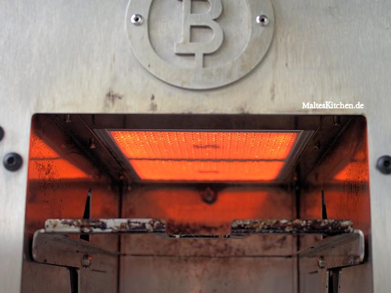 Der Beefer erreicht Temperaturen von über 800 Grad.