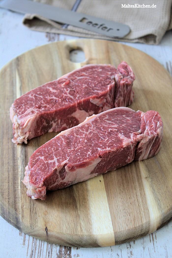 Je besser die Qualität des Steaks umso größer das Erlebnis auf dem Beefer!