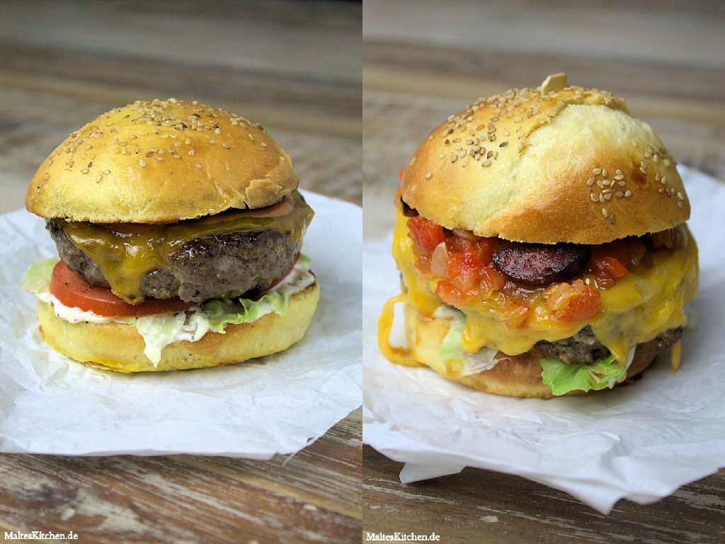 2 superleckere Burger!