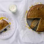 Mandelkuchen mit Orange & Vanille