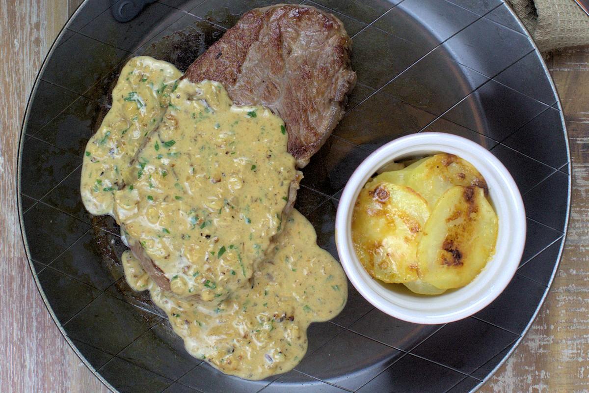Rezept für ein Sellerie-Kartoffel-Gratin