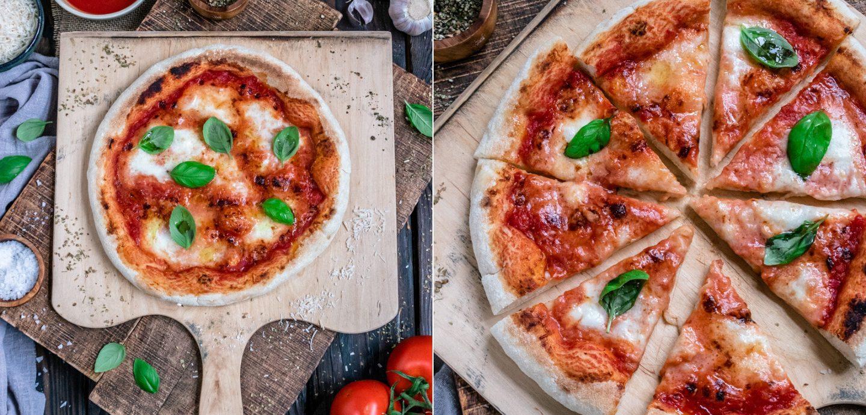 Rezept für den besten Pizzateig und eine neapolitanische Pizza