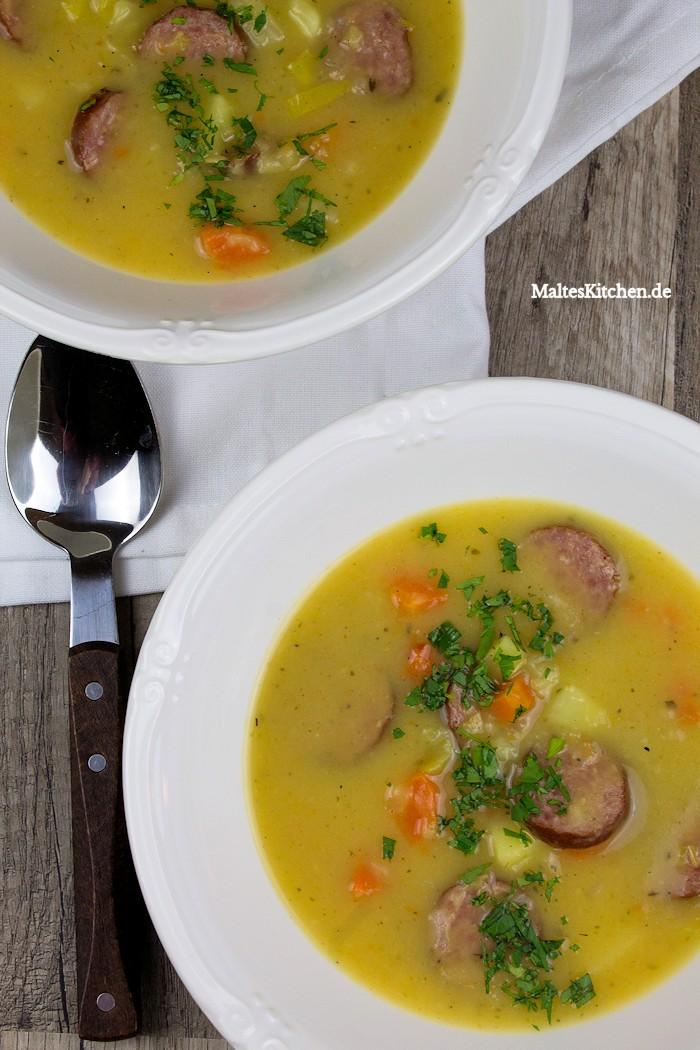 Kartoffeleintopf mit Cabanossi