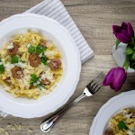 Pasta mit Salsiccia und Fenchel