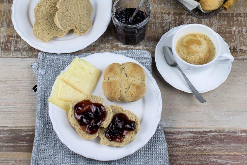 Rezepte für Joghurtbrötchen und Quarkbrötchen