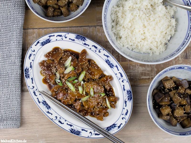 Rezept für Schweinefleisch in Peking-Sauce