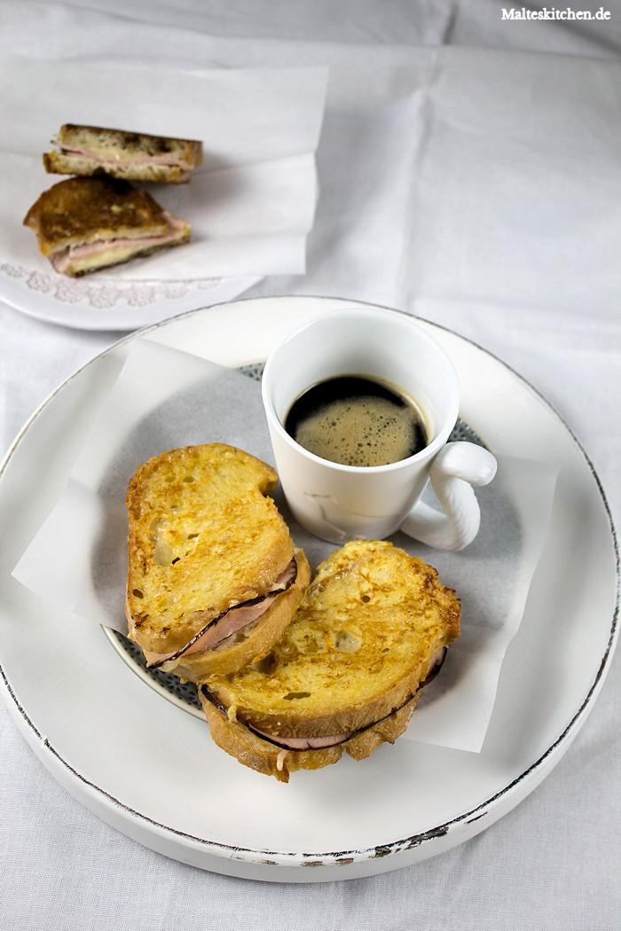 French Toast und Kaffee zum Frühstück