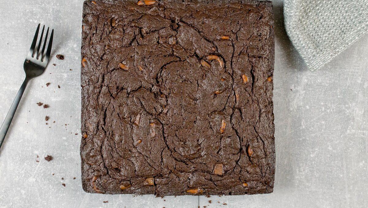 Rezept für einen Schokoladen-Brownie
