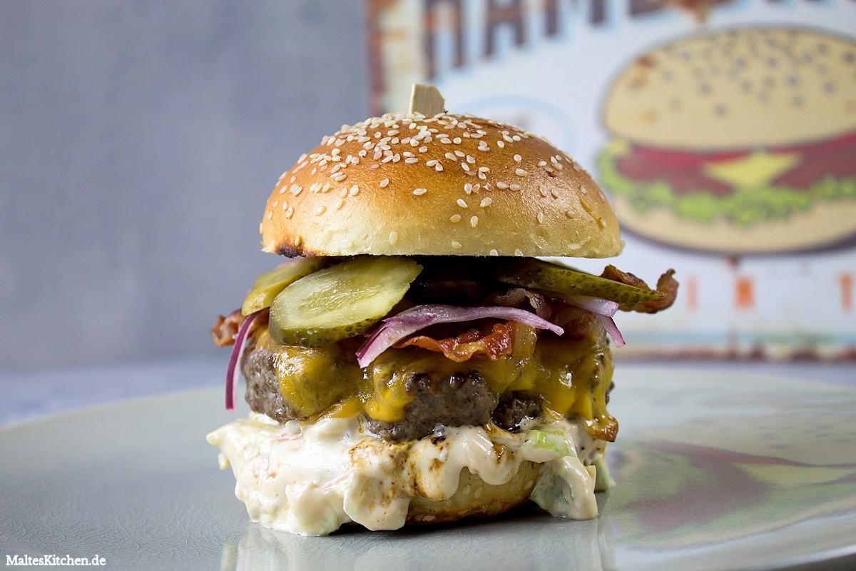 Burger Ala Jamie Oliver