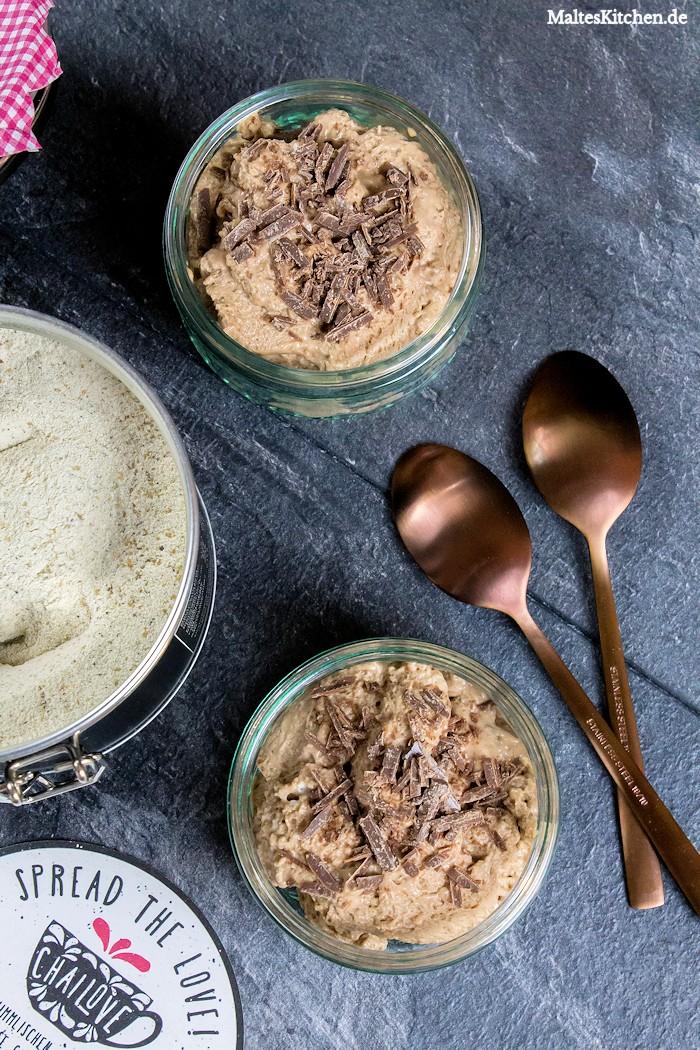 Mousse au chocolat mit Chai-Latte von Chailove
