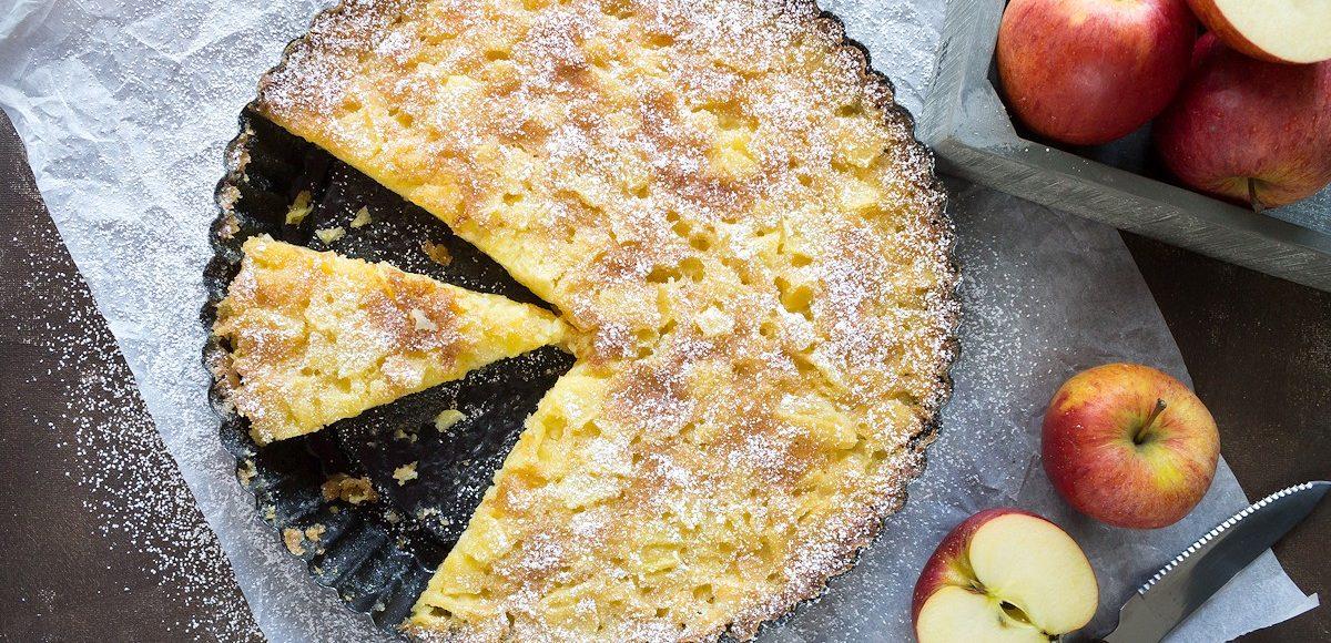 Rezept für einen toskanischen Apfelkuchen