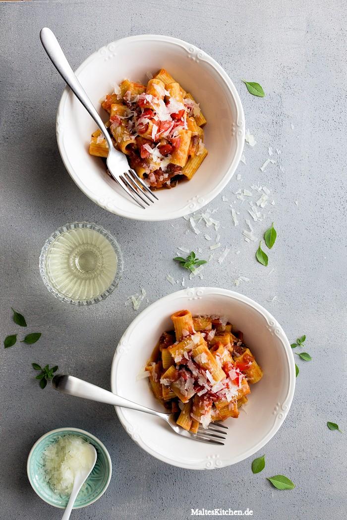 Leckere und schnelle Pasta ist immer gut!