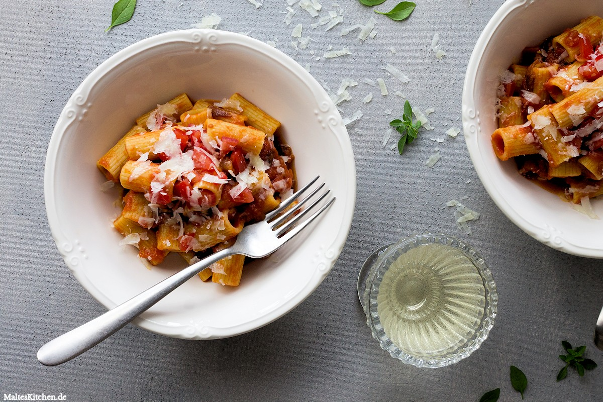 Rezept Rigatoni all'amatriciana