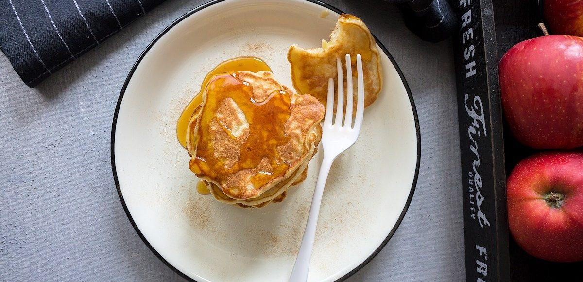 Rezept für Apfelpfannekuchen