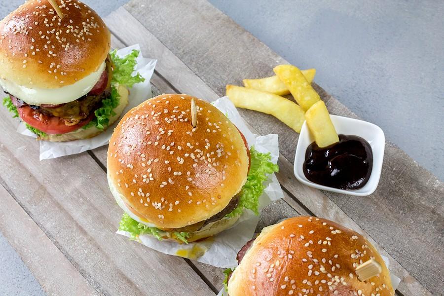 Superleckerer Kabanos Burger!