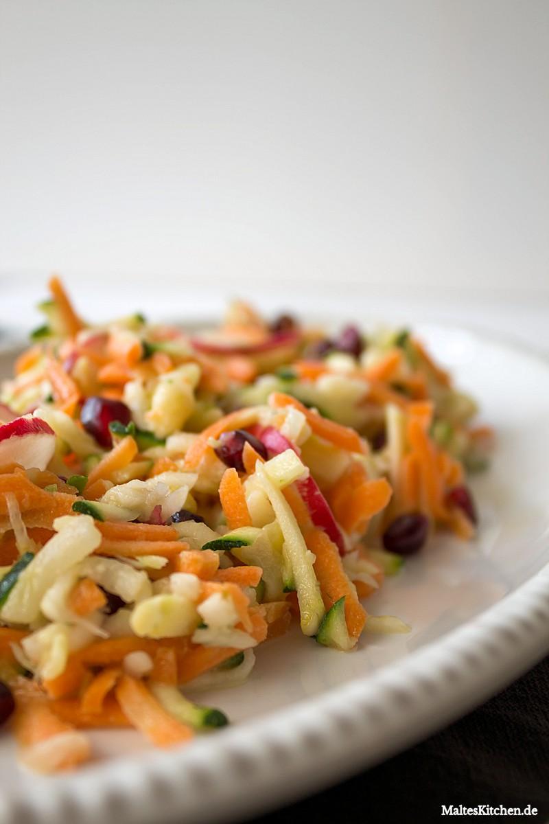 Super leckerer Regenbogen-Salat