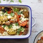 Warmer Tomatensalat mit Feta