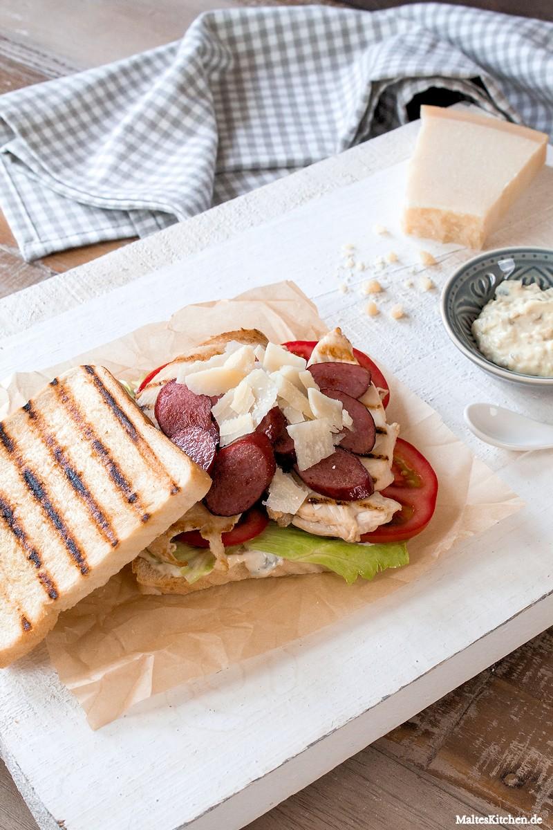 Superleckeres Sandwich