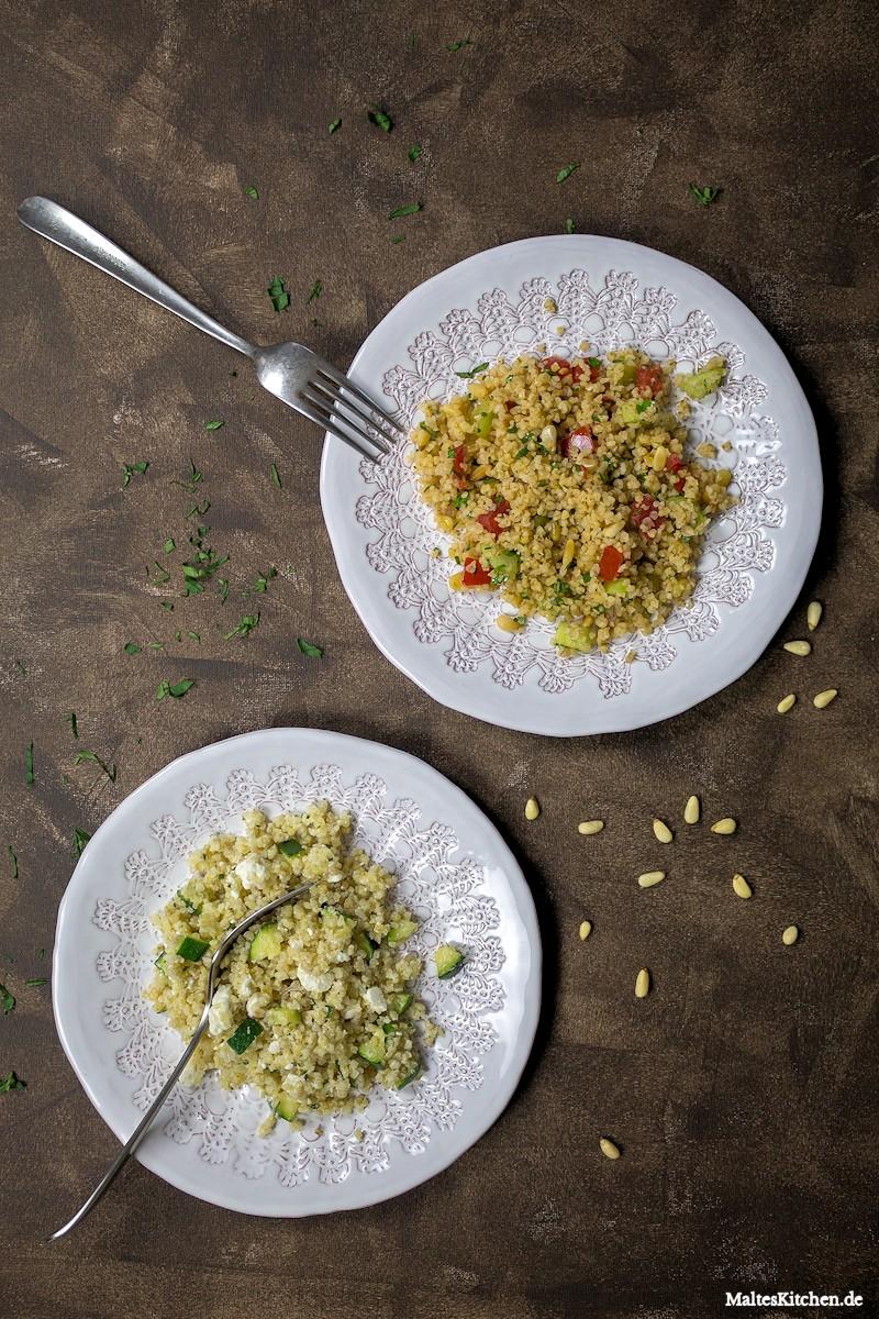 Leckeres Tabouleh als Beilage zum Grillen