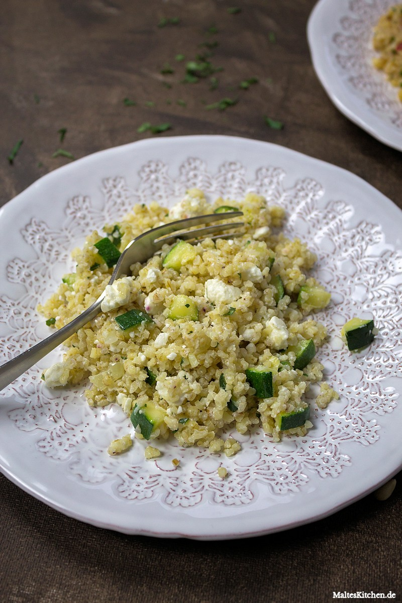 Tabouleh mit Zucchini