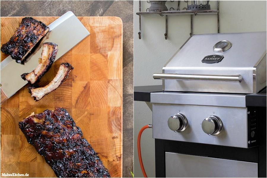 Test Gasgrill Barney Von Burnhard : Grillen mit dem barney gasgrill von springlane