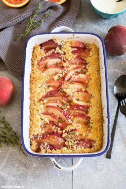 Saftige Pfirsiche mit Crunch!