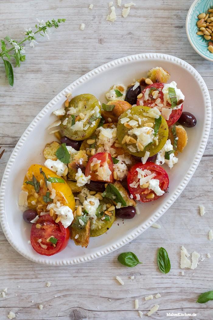 Ein toller Tomatensalat alsBeilage