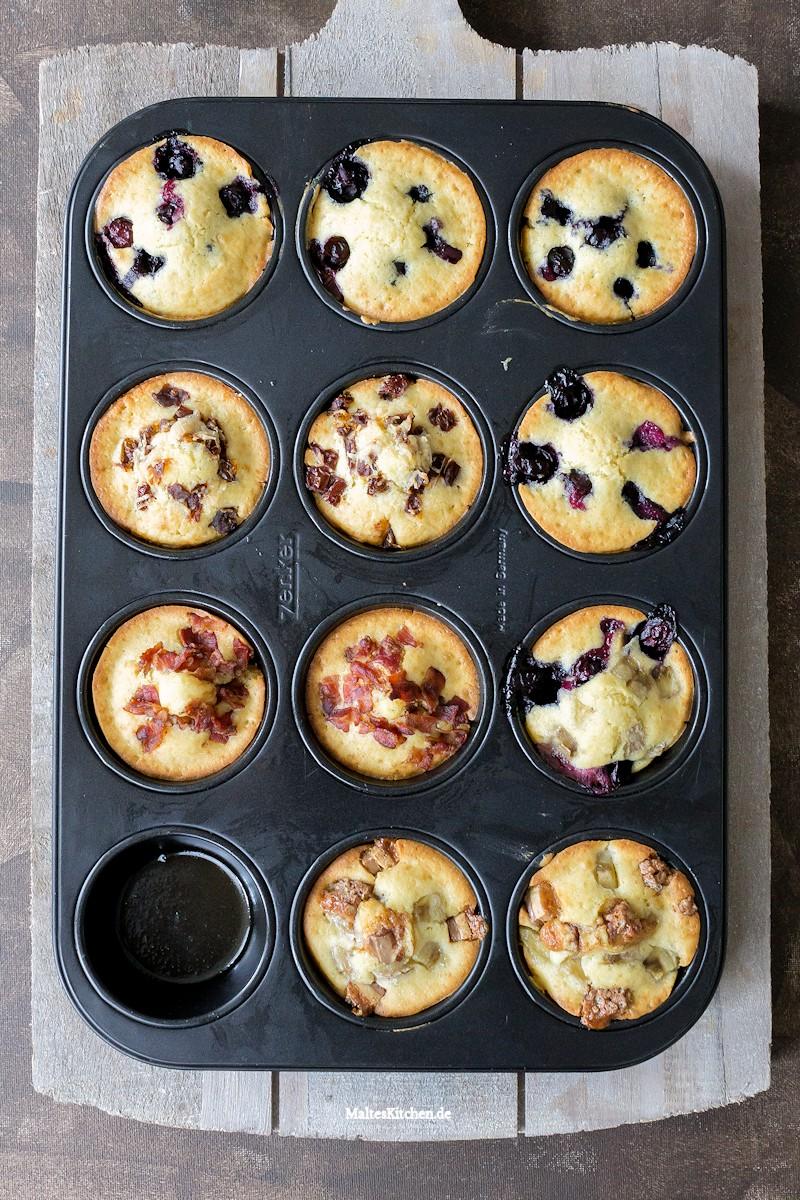 Pancake Muffins nach dem Backen