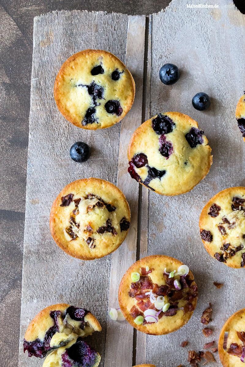 Leckere süße und herzhafte Pancake Muffins
