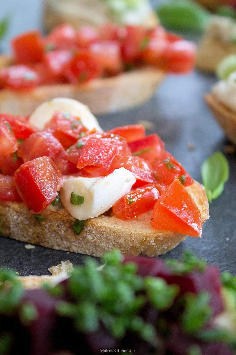 Leckeres Bruschatte aus Das Prinzip Kochen