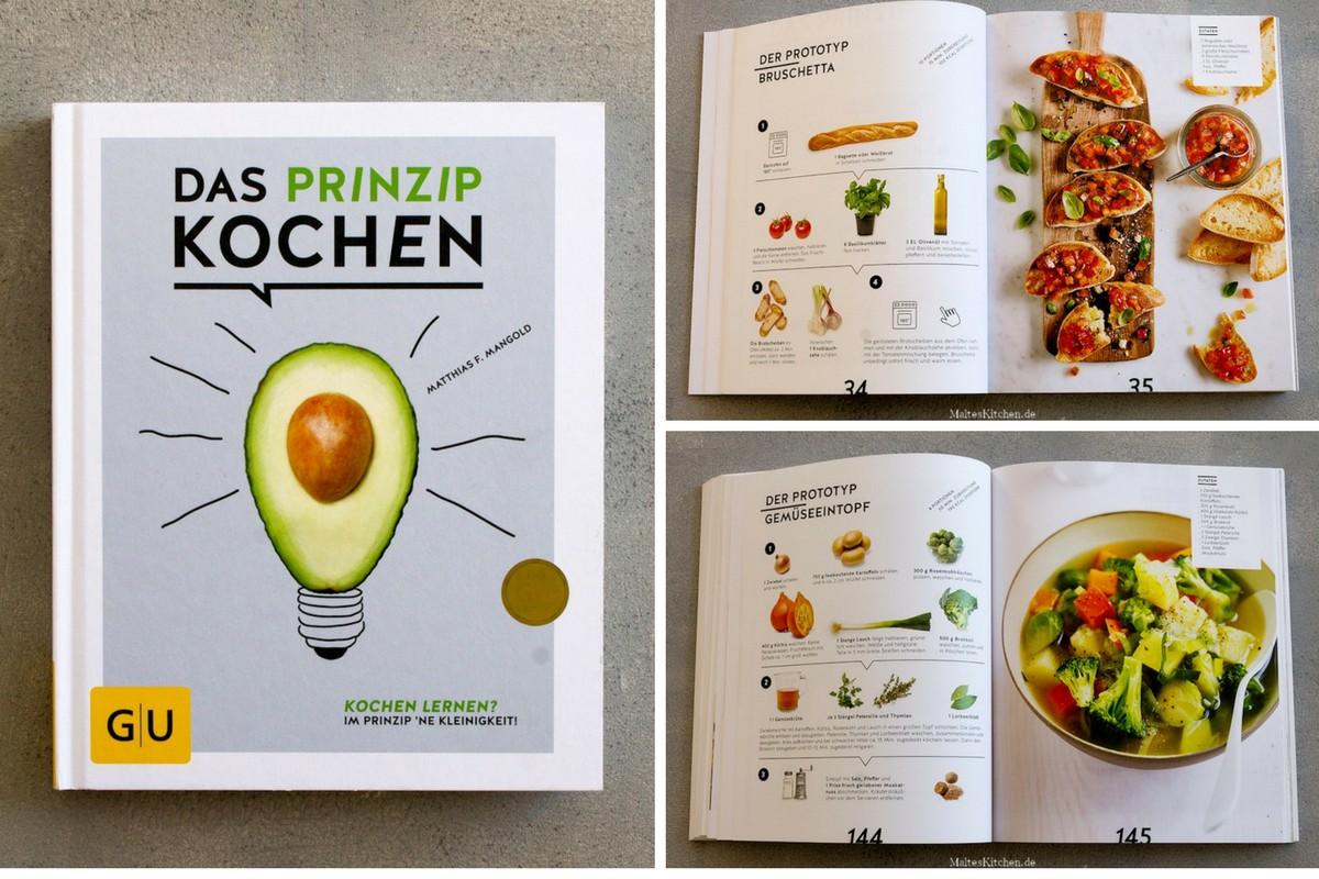 Gewinne das Kochbuch Das Prinzip Kochen