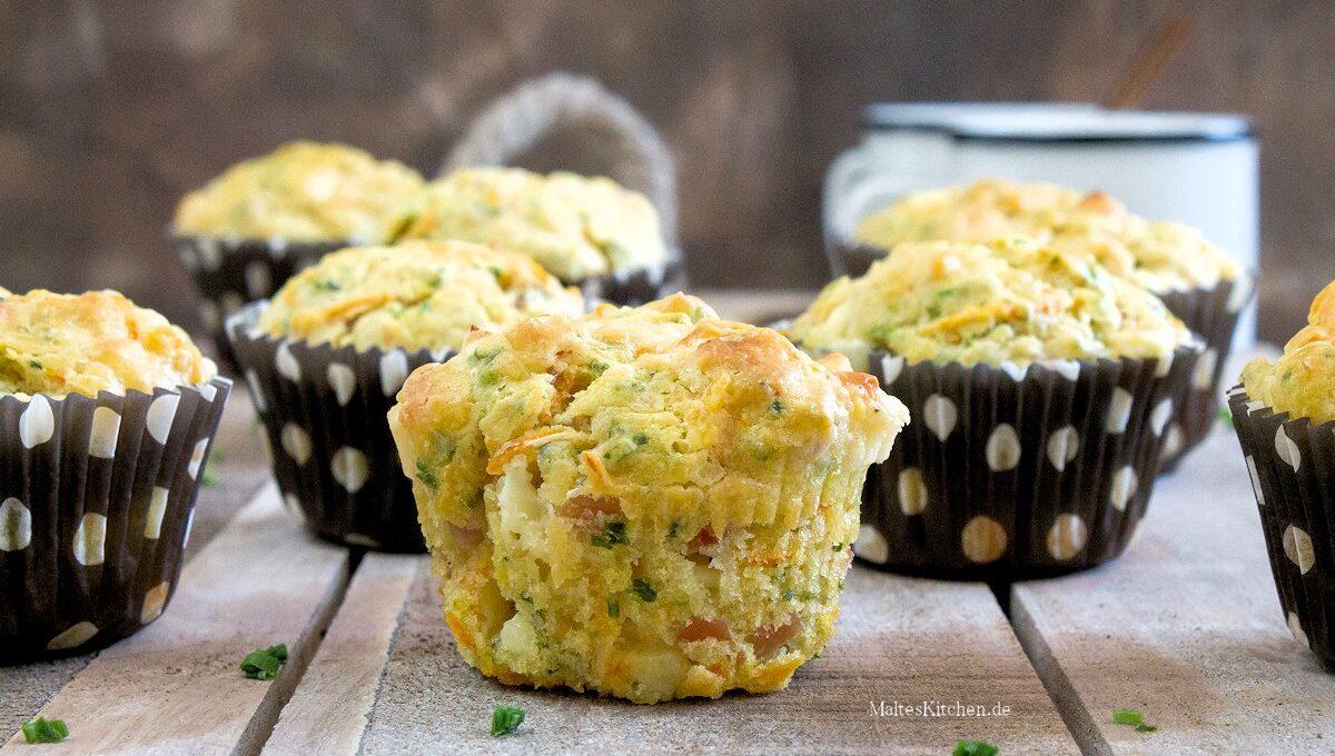 Rezept für Schinken-Käse-Muffins