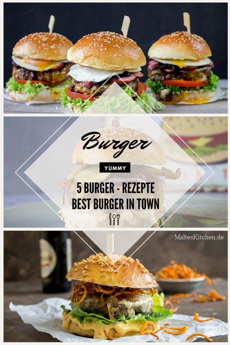 5 ultimative Burger Rezepte