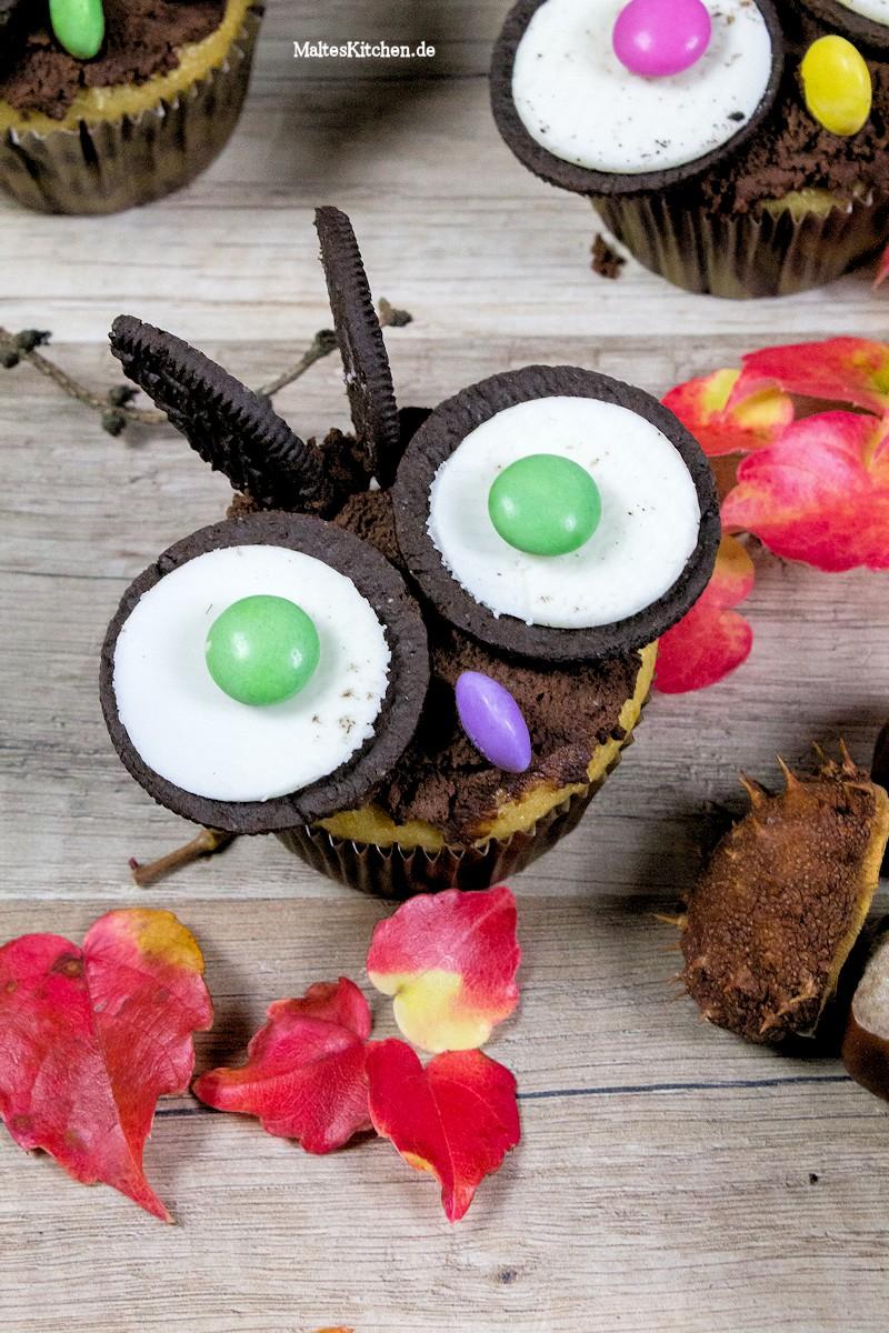 Super niedliche Eulen-Muffins