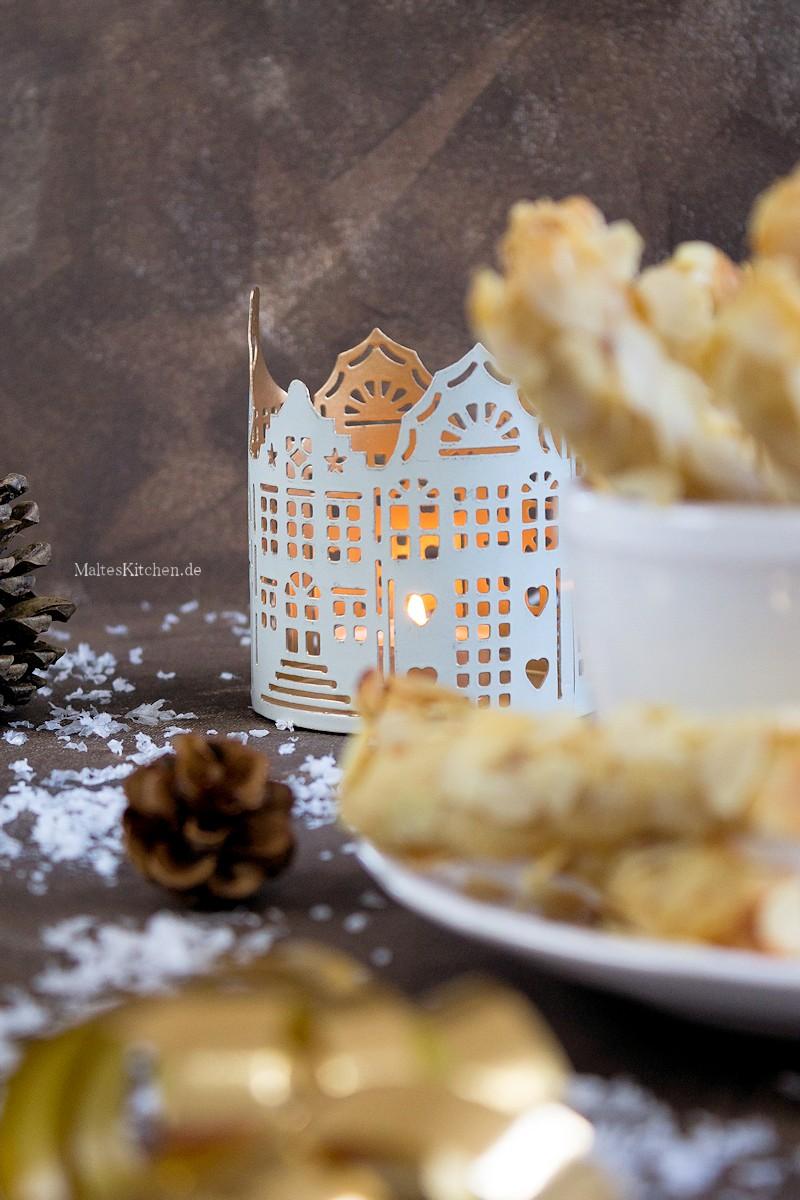 Mandel-Stängli Kekse für Weihnachten