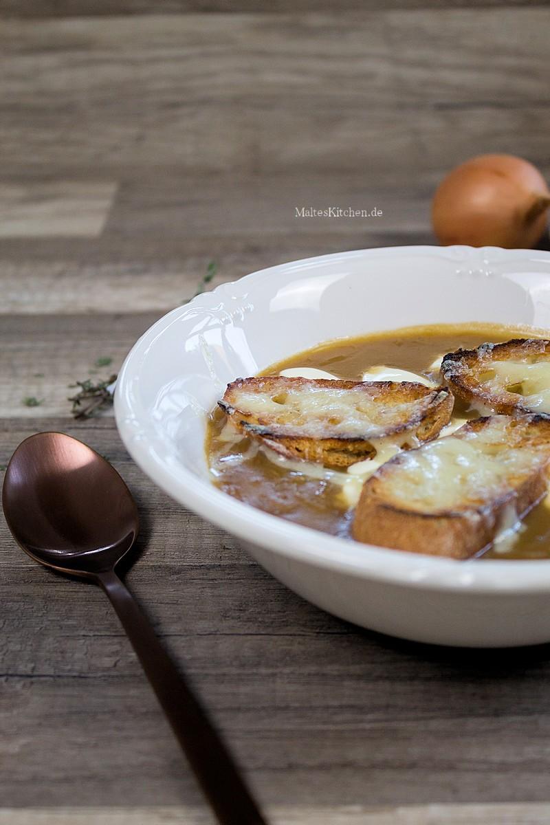 Rezept für eine leckere Zwiebelsuppe