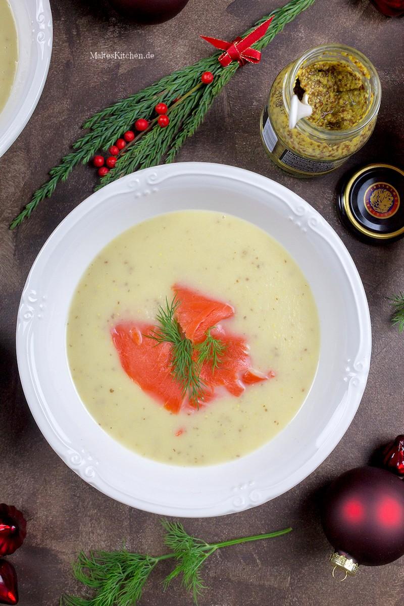 weihnachtliche suppe