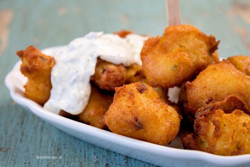 Rezept für Kartoffel-Speck-Krapfen